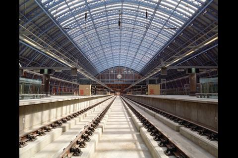 St Pancras tracks